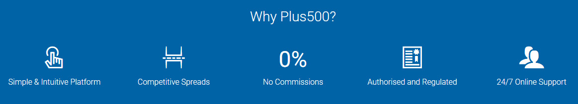 plus500 advantages